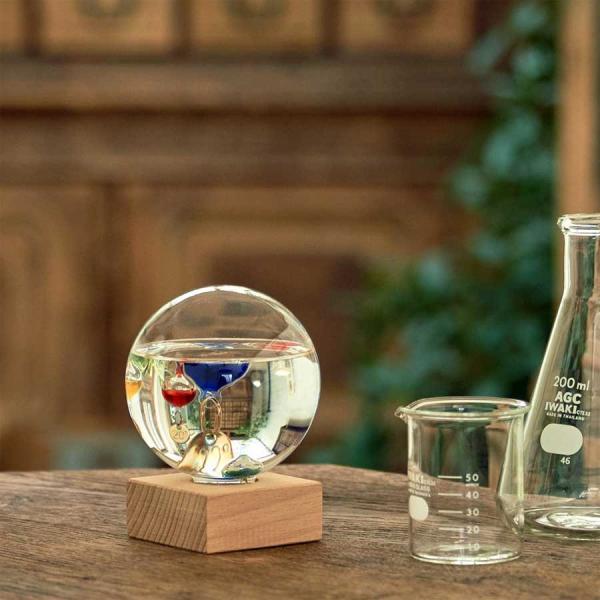 ガリレオ温度計:ドーム型ガラスフロート温度計S〜郵送可¥500|imanando|06