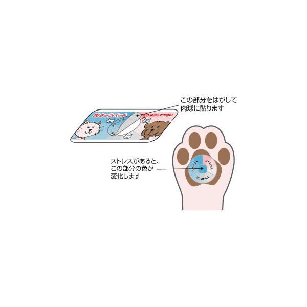 ストレスチェッカー:肉きゅうパッチ(犬用・猫用)〜〒郵送可¥320|imanando|03