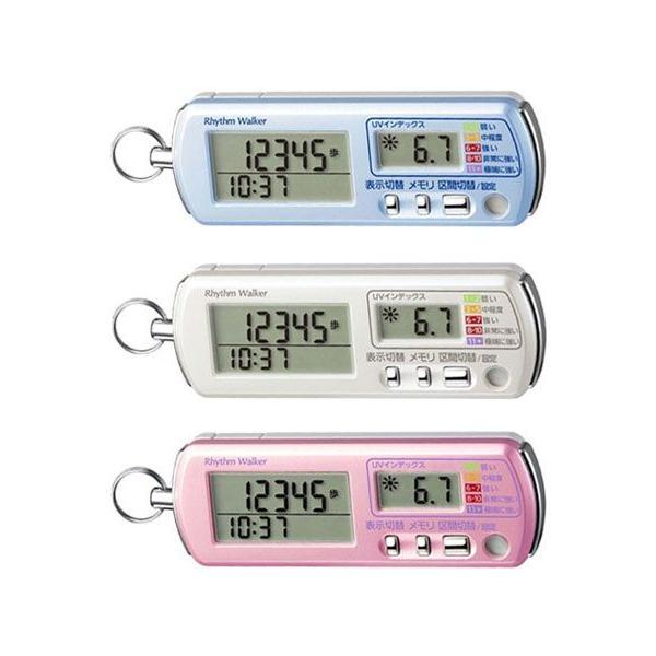 歩数計:UVチェッカー&非常用ブザーつき歩数計「リズムウォーカー」〜〒郵送可¥320|imanando|02