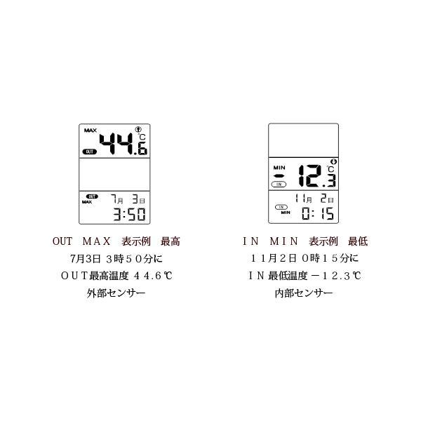 デジタル水温計:外部センサーつき温度計AP-09W〜〒郵送可¥320 imanando 02