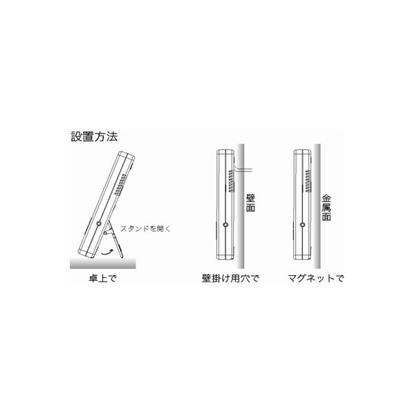 デジタル温度計 外部センサー 温度計 AP-09W 〒郵送可¥320|imanando|04