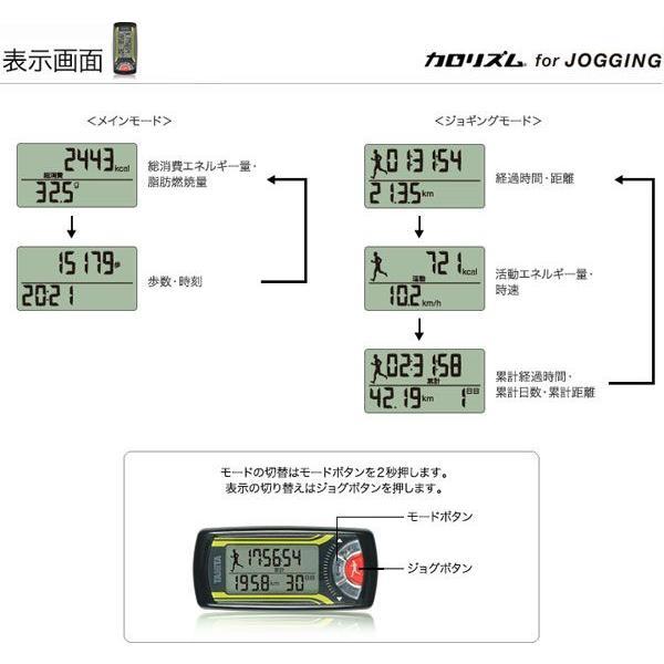 活動量計:ジョギング消費カロリー計「カロリズム」EZ-063〜〒郵送可¥320|imanando|06