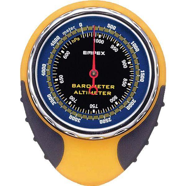 高度計:温度計&コンパスつきアナログ高度計FG-5162〜〒郵送可¥320|imanando