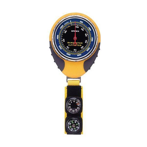 高度計:温度計&コンパスつきアナログ高度計FG-5162〜〒郵送可¥320|imanando|02