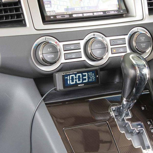 車用時計 電波時計 デジタルクロック Fizz-1075/Fizz-1083 車載用 〒郵送可¥320|imanando|03