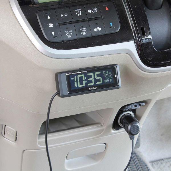 車用時計 電波時計 デジタルクロック Fizz-1075/Fizz-1083 車載用 〒郵送可¥320|imanando|05