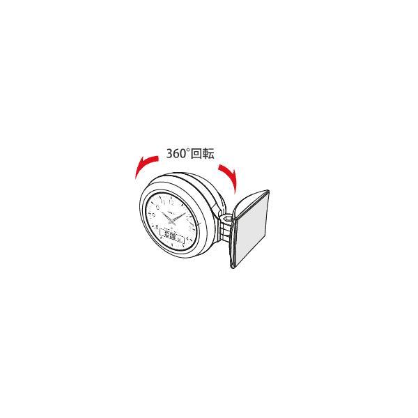 電波時計:ナポレックス車用電波時計Fizz-844〜在庫切れ:〒郵送可¥320|imanando|02