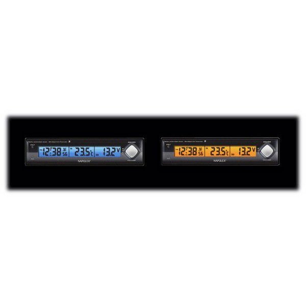 VTメータークロック 車用電圧計 電波時計 温度計 車外 Fizz-890 車載用 〒郵送可¥320 imanando 04