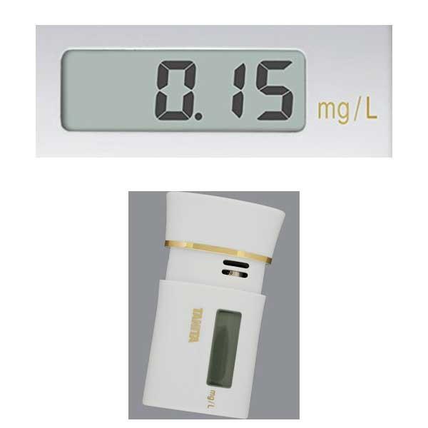 アルコールチェッカー タニタ アルコール検知器 HC-213M ホワイト 〒郵送可¥320|imanando|03