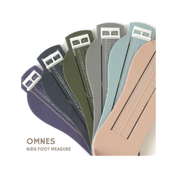 足のサイズ測定器 子供 キッズ フットメジャー OMNES 6色 〒郵送可¥320|imanando|02