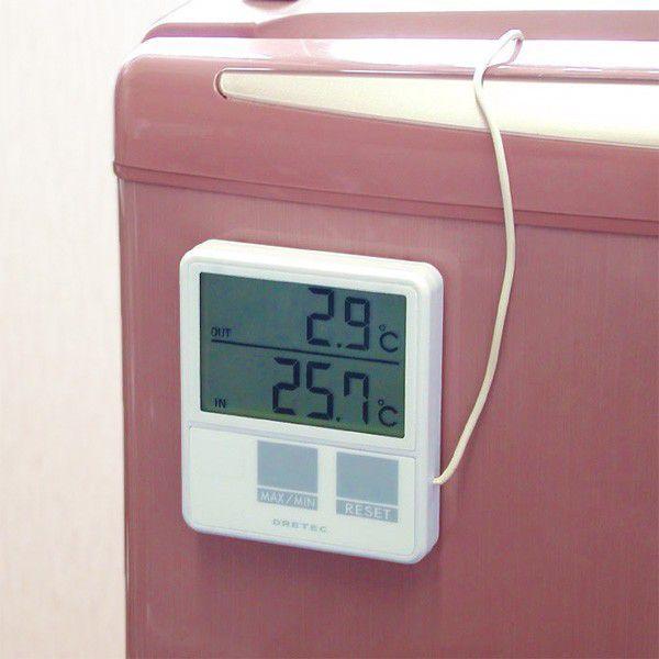 冷蔵庫温度計 外部センサー デジタル温度計 O-215WT 〒郵送可¥320|imanando|03