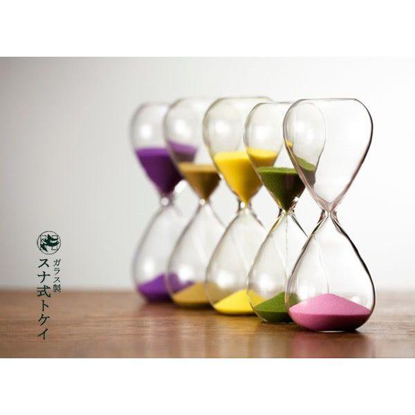 砂時計 シンプル 3分計 5分計 ガラス砂時計 〒郵送可¥320