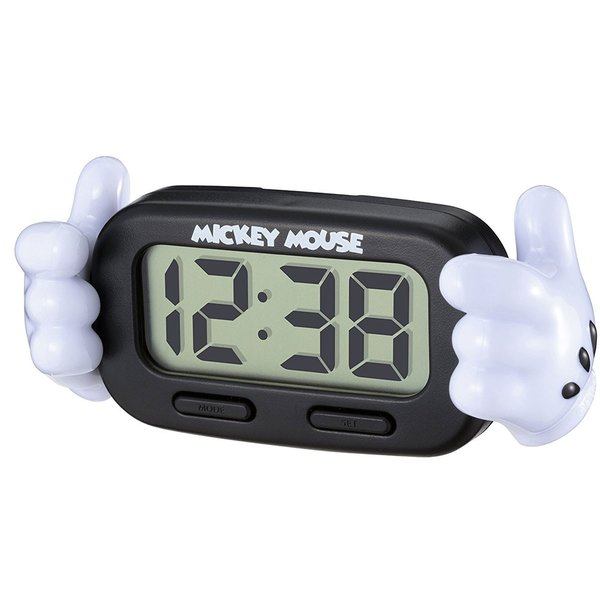 車載用時計 ミッキー 手 デジタルクロック WD-327 9月中旬頃入荷予定:〒郵送可¥320 imanando 02