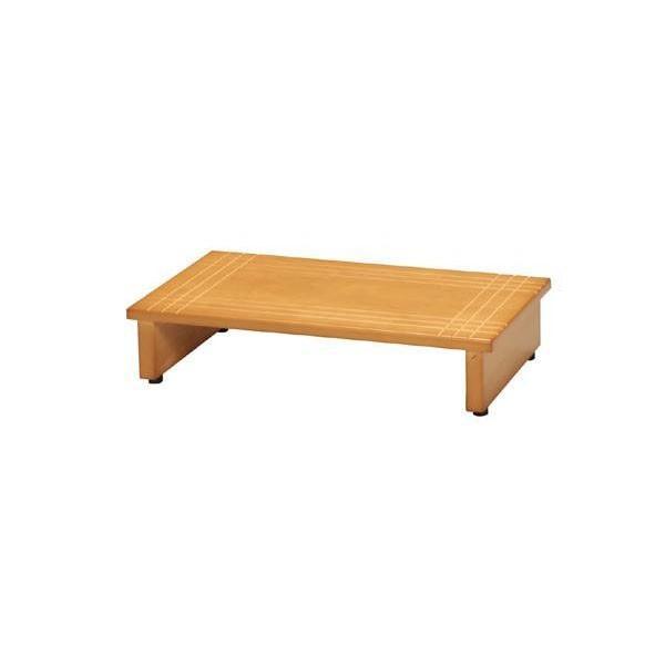ines(アイネス) 木製玄関踏み台60 NK-635(同梱・代引き不可)