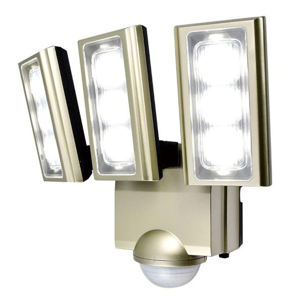ELPA(エルパ) 屋外用LEDセンサーライト AC100V電源(コンセント式) ESL-ST1203AC(同梱・代引き不可)