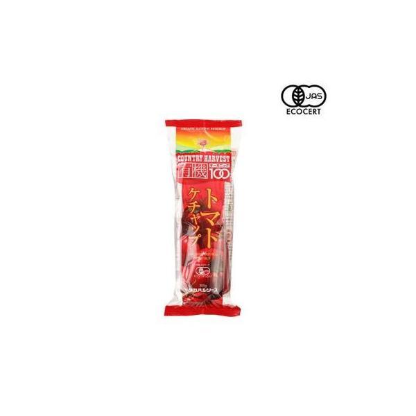 タカハシソース カントリーハーヴェスト 有機トマトケチャップ 300gソフト 12本セット 017134(同梱・代引き不可)