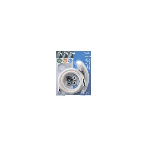 三栄水栓 SANEI 低水圧マッサージシャワーセット PS309-CTA-WW(同梱・代引き不可)