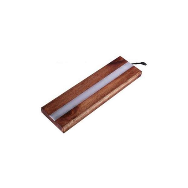 遊夢木や ハーバリウムスタンド RGBLED30 30cm アカシア(同梱・代引き不可)