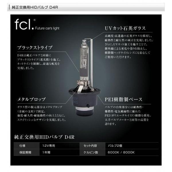 fcl HIDバルブ D4R D4S 2個1セット 6000K/8000K 当店人気商品|imaxsecond|03