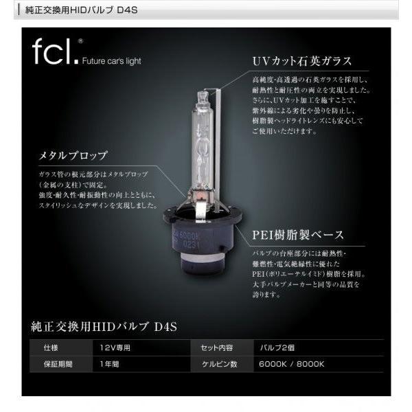 fcl HIDバルブ D4R D4S 2個1セット 6000K/8000K 当店人気商品|imaxsecond|04