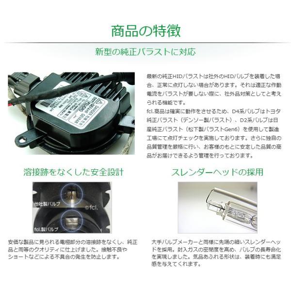 fcl HIDバルブ D4R D4S 2個1セット 6000K/8000K 当店人気商品|imaxsecond|09
