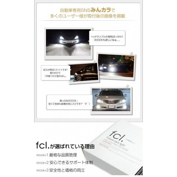 fcl HID キット fcl.35W H4 Hi/Lo リレー付き リレーレス フルキット HIDキット 当店人気商品|imaxsecond|04