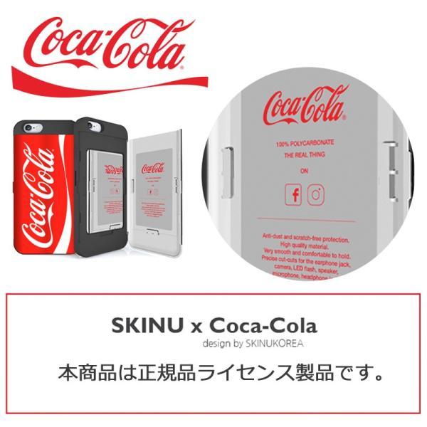 SKINU コカコーラ iPhone11 ケース iphone11pro ケース iphonexs ケース カードミラー スマホケース 送料無料 imobaile 02