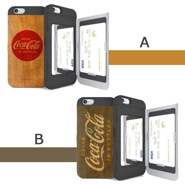 SKINU コカコーラ iPhone11 ケース iphone11pro ケース iphonexs ケース カードミラー スマホケース 送料無料 imobaile 05