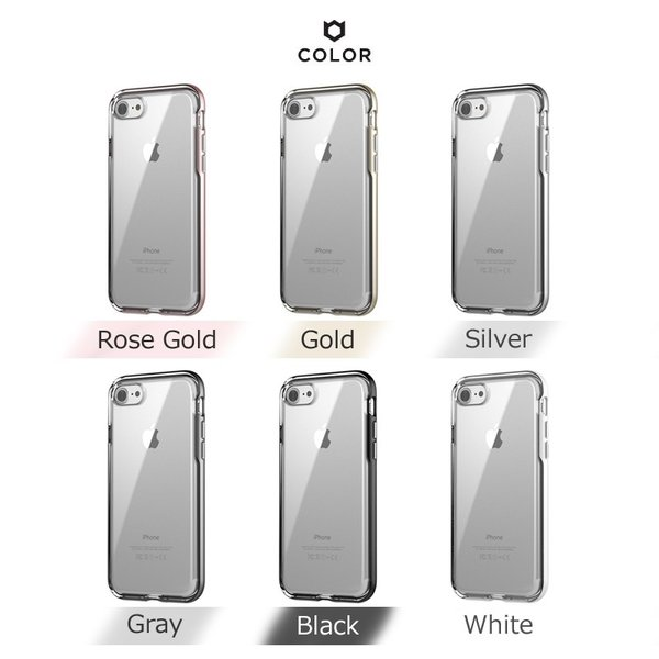 iFace Gentle 正規品 iPhone7 ケース アイフェイス ジェントル iPhone8 バンパー 全6色 送料無料  iPhone7Plus iPhone8Plus iPhone6 耐衝撃 並行輸入品 クリア|imobaile|07