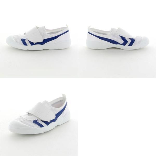 ムーンスター 子供靴/メンズ/レディース バイオTEF 02 ブルー ムーンスター 汚れにくいテフロン加工の上履き MS シューズ|imoto-sports|03