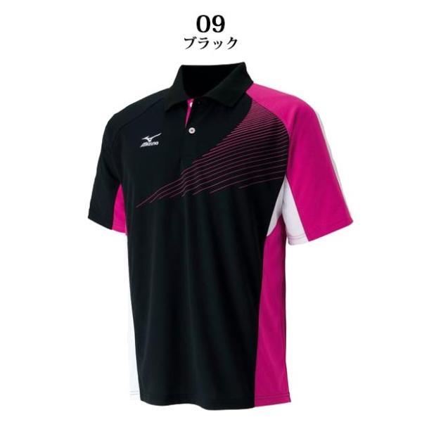 ミズノ スポーツウエア ドライサイエンス/ゲームシャツ ラケットスポーツ 62JA6012 MIZUNO スタンダードなシルエット 男女兼用 ジュニアサイズも対応|imoto-sports|02