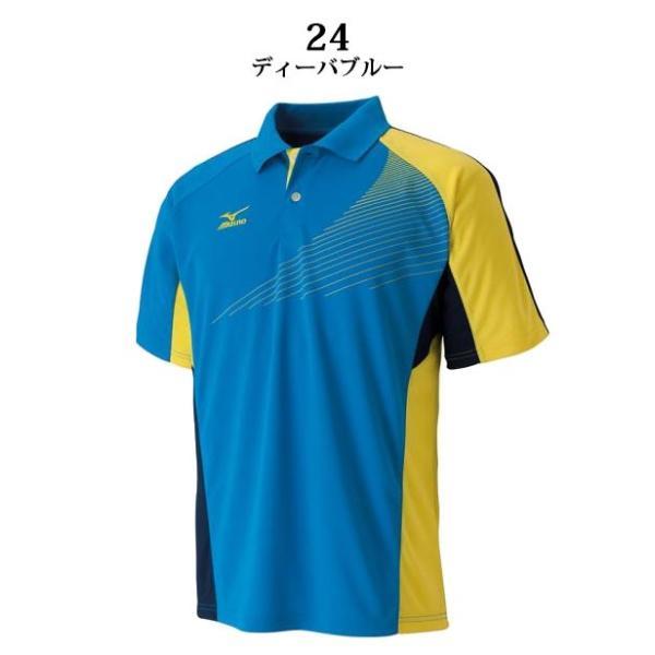 ミズノ スポーツウエア ドライサイエンス/ゲームシャツ ラケットスポーツ 62JA6012 MIZUNO スタンダードなシルエット 男女兼用 ジュニアサイズも対応|imoto-sports|03