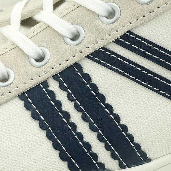 ☆Zeha スニーカー キャンバスシューズ レディース メンズ ツェハ ホワイト ネイビー 白 靴 JENA NEU イエナ ノイ  カジュアル ZHR15267 あすつく