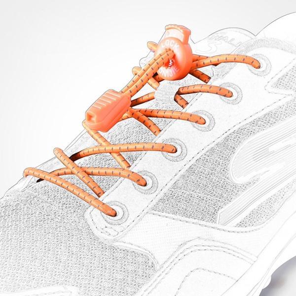 結ばない靴ひも 靴紐 靴ひも 簡単 着脱楽々 シューレース スニーカー 結ばない ほどけない 伸縮 ゴム 伸びる ワンタッチ ジョギング (お得な3色セット)