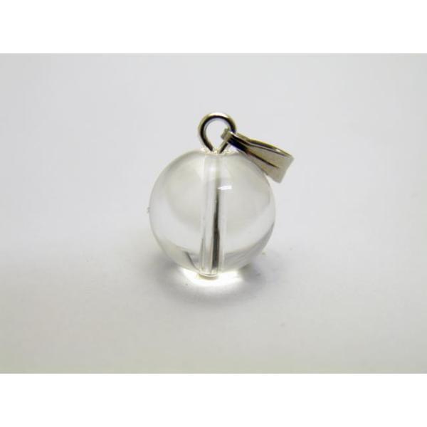 天然石 丸玉ペンダントトップ ペンダントヘッド パワーストーン バラ売り 水晶 10mm パワーストーン