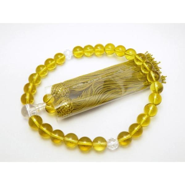 シトリン 数珠(念珠)10mm いざという時の必需品・黄水晶の数珠 男女兼用 天然石 パワーストーン