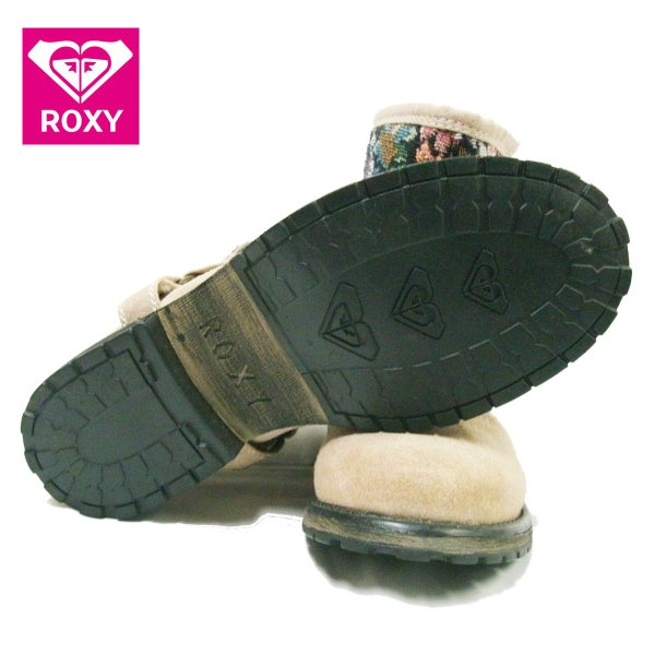 ROXY  ロキシーショートブーツ HOLLISTON 25cm アウトレット
