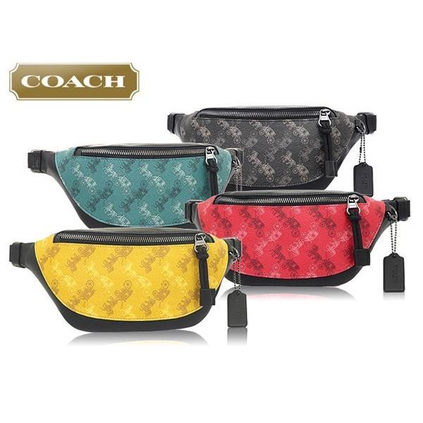 コーチ COACH バッグ ショルダーバッグ F83411 ビリジアン ウォーレン ホース アンド キャリッジ プリント ミニ ベルト ボディー バッグ アウトレット メンズ import-collection-yr 04