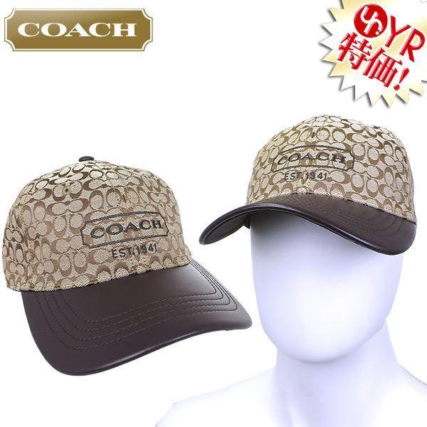 b0af6673006e コーチ COACH アパレル 帽子 F83614 カーキ シグネチャー ジャカード ベースボール キャップ アウトレット メンズ レディース| ...