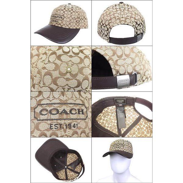89749bc141b1 ... コーチ COACH アパレル 帽子 F83614 カーキ シグネチャー ジャカード ベースボール キャップ アウトレット メンズ レディース|  ...