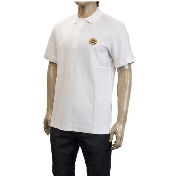バーバリー BURBERRY チェックプラケット コットンポロシャツ 8003021-A1464 WHITE|importbrand-jp|04