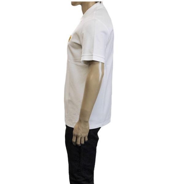 バーバリー BURBERRY チェックプラケット コットンポロシャツ 8003021-A1464 WHITE|importbrand-jp|05