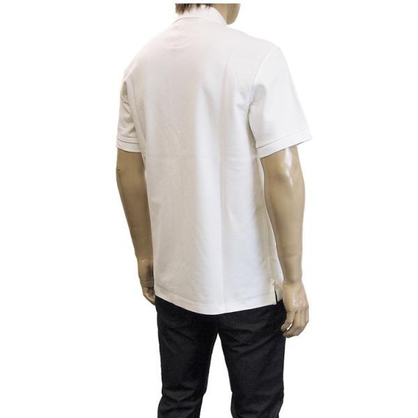 バーバリー BURBERRY チェックプラケット コットンポロシャツ 8003021-A1464 WHITE|importbrand-jp|06