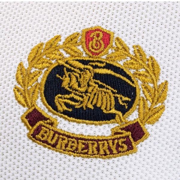 バーバリー BURBERRY チェックプラケット コットンポロシャツ 8003021-A1464 WHITE|importbrand-jp|07