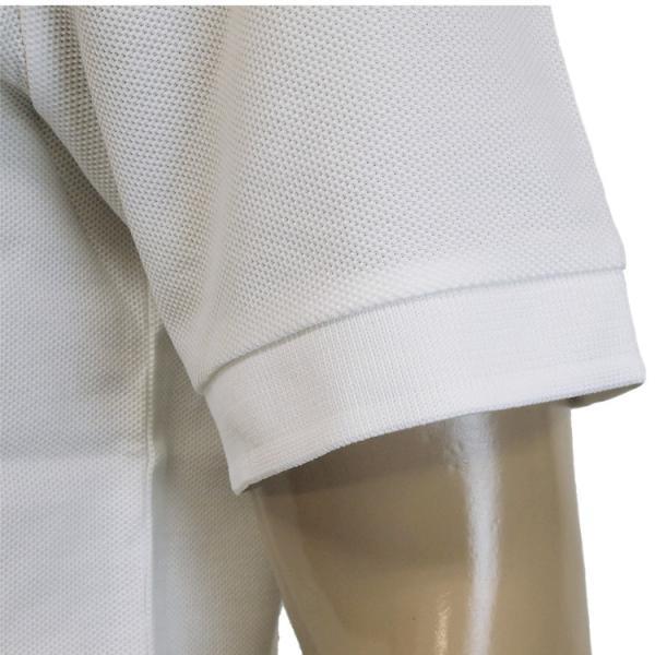 バーバリー BURBERRY チェックプラケット コットンポロシャツ 8003021-A1464 WHITE|importbrand-jp|08