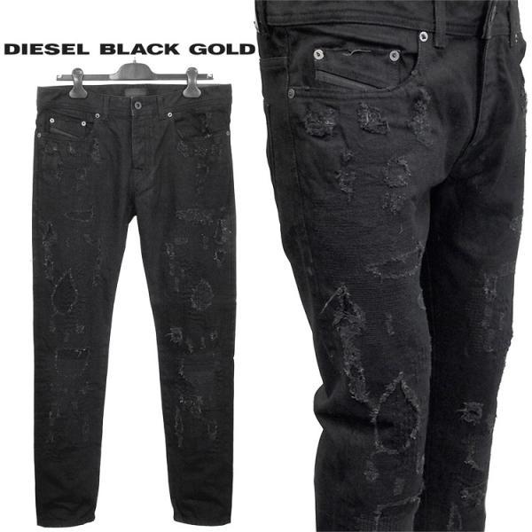b0cab58d ディーゼル ブラック ゴールド BLACK GOLD TYPE-2510 ブラックデニム SIRD-BG8ZL TYPE-2510 ...