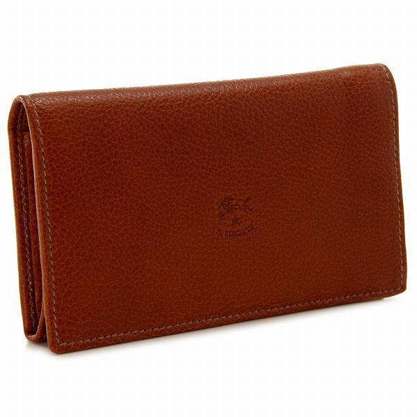 db0b9fafd780 イルビゾンテ/IL BISONTE 財布 レディース メンズ カーフスキン 2つ折り財布 ブラウン C0895-P ...