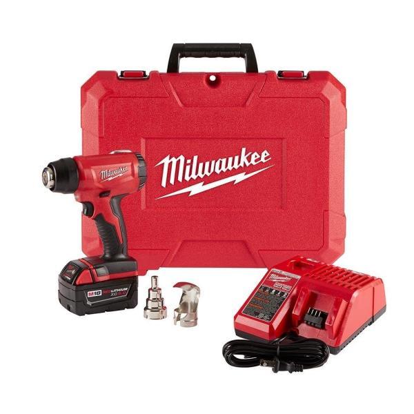 Milwaukeeミルウォーキー2688-21M18充電式コードレスコンパクトヒートガンキット日本語説明書付