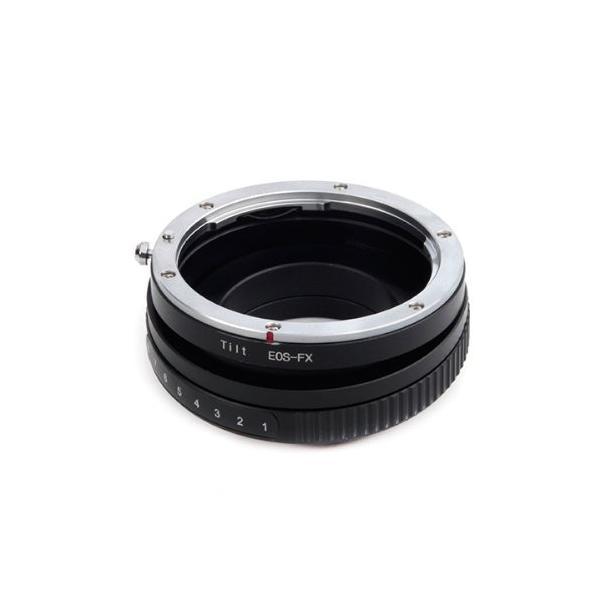 Pixco Lens Adapter for Tilt Canon EOS EF Lens to Fuji Film X-A5 X-A20 X-A10 X-A3 X-A2 X-A1 X-T2 X-E3 X-E2S X-E2 X-E1 X-T100 X-T10 X-T1IR X-T1 X-T20 X-