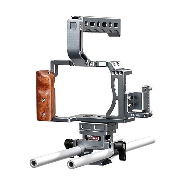 Vidpro CA-S7R Aluminum Camera Video Cage Rig for Sony Alpha A7 Series fits A7, A7 II, A7S, A7S II, A7R & A7R II Digital Cameras【並行輸入品】
